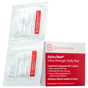 Dr. Dennis Gross Skincare Alpha Beta Extra Strength 3 App Peel (Free Gift)