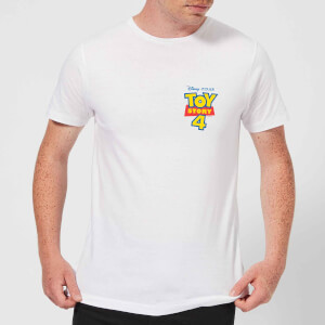 Toy Story 4 Pocket Logo Men's T-Shirt - White