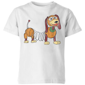Toy Story 4 Slinky Pose Kids' T-Shirt - White