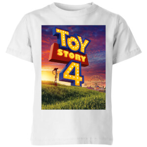 Toy Story 4 We Are Back Kids' T-Shirt - White
