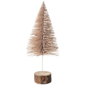 Broste Copenhagen Decorative Tree - Medium - Champagne
