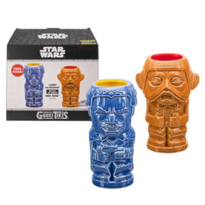 Beeline Creative Star Wars Lando and Nien Nunb Geeki Tikis Mug SDCC Exclusive (Pack of 2)