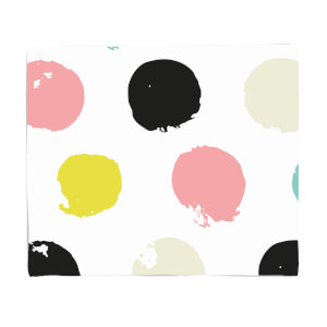 Large Spots Fleece Blanket