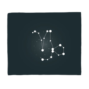 Capricorn Star Sign Fleece Blanket