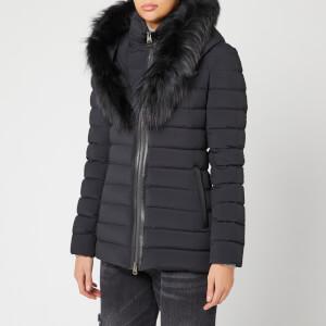 Mackage Women's Kadalina Fur Trim Coat - Black