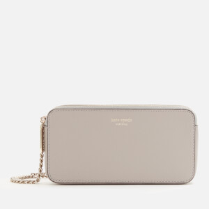 Kate Spade New York Women's Margaux Double Zip Mini Cross Body Bag - True Taupe