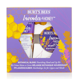 Burt's Bees Botanical Blend Nourishing Hand and Lip Kit - Lavender & Honey