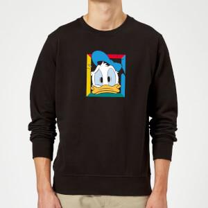 Disney Donald Face Sweatshirt - Black