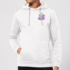 Disney Aristocats Marie Teacup Hoodie - White