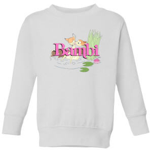 Disney Bambi Kiss Kids' Sweatshirt - White