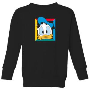 Disney Donald Face Kids' Sweatshirt - Black