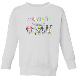 Disney Mickey's Friends Kids' Sweatshirt - White