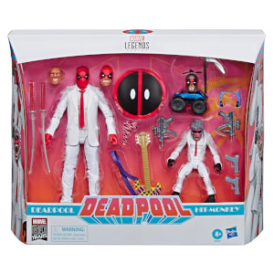 Pack de 2 Figuras de acción Deadpool y Hit-Monkey 80.º Aniversario Marvel (15 cm) - Marvel Legends