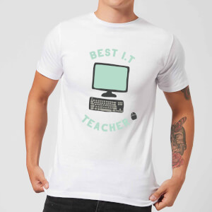 Best I.T Teacher Men's T-Shirt - White