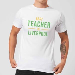Best Teacher In Liverpool Men's T-Shirt - White
