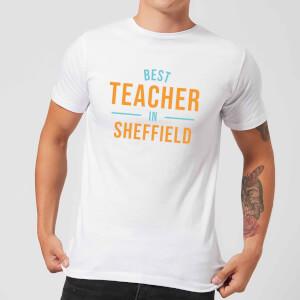 Best Teacher In Sheffield Men's T-Shirt - White