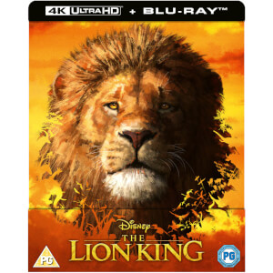 Exclusivité Zavvi : Steelbook Le Roi Lion (Live) - 4K Ultra HD (Blu-Ray Inclus)