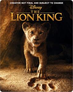 El Rey León (2019) 4K Ultra HD - Steelbook Edición Limitada Exclusivo Zavvi