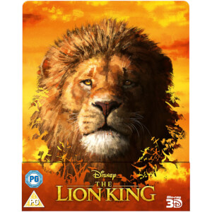 The Lion King (Live Action) - Zavvi UK Exclusive 3D Steelbook (Includes Blu-Ray)