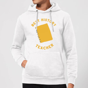 Best History Teacher Hoodie - White