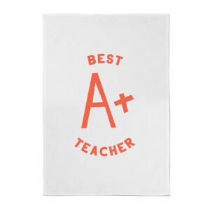 Best Teacher Cotton Tea Towel