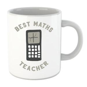 Best Maths Teacher Mug