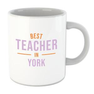 Best Teacher In York Mug