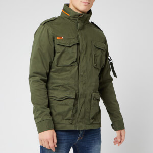 Superdry Men's Classic Rookie 4 Pocket Jacket - Deep Depths