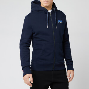 Superdry Men's Ol Winter Cali Zip Hoody - Rich Navy