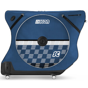 Scicon AeroComfort Road 3.0 TSA Bike Bag - Limited Edition - Checkmate - Bike Blue