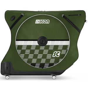Scicon AeroComfort Road 3.0 TSA Bike Bag - Limited Edition - Checkmate - Racing Green