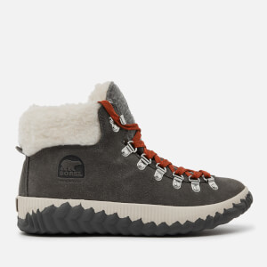 Sorel Women's Out 'N About Plus Conquest Waterproof Suede Boots - Quarry