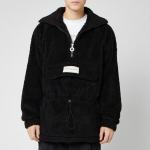 Drôle De Monsieur Men's Functional Sherpa Jacket - Black