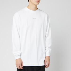 Drole De Monsieur Men's Long Sleeve T-Shirt - White