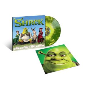Shrek (Soundtrack) - Dark Lime Green Starburst LP