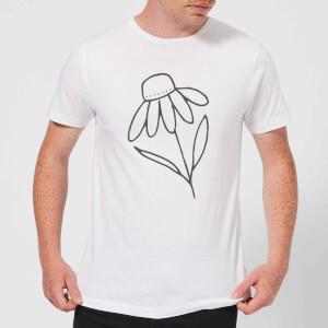 Flower Men's T-Shirt - White