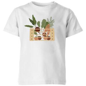 Vegetable Box Kids' T-Shirt - White