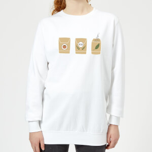 Seed Packets Women's Sweatshirt - White