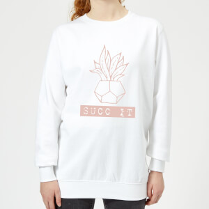 Succ It Women's Sweatshirt - White