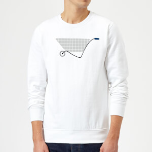 Wheel Barrow Sweatshirt - White