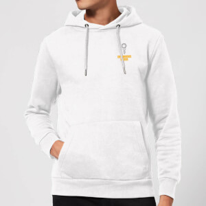 Pocket You Grow Girl Hoodie - White