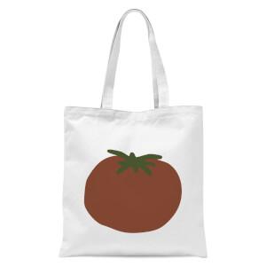 Tomato Tote Bag - White