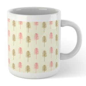 Tall Tree Pattern Mug