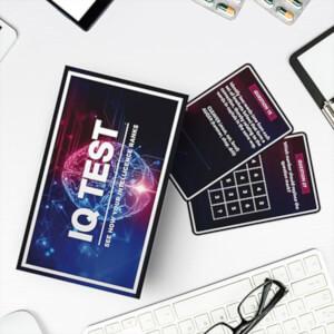 IQ Test Kartenspiel