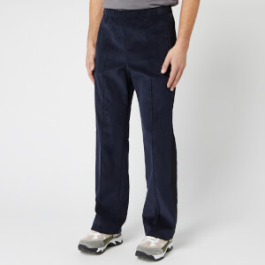Maison Margiela Men's Corduroy Track Pants - Navy