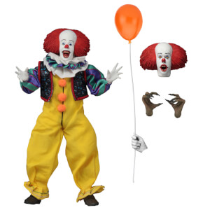 NECA IT - 8 Inch Clothed Action Figure - Pennywise (1990)
