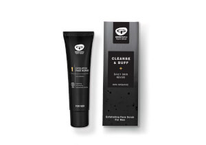 Green People Men's Cleanse and Buff Daily Skin Revive Stocking Filler 30ml