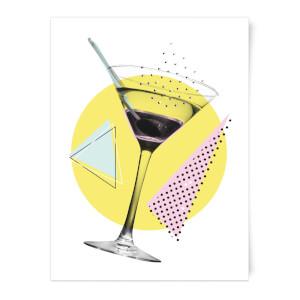 Martini Art Print