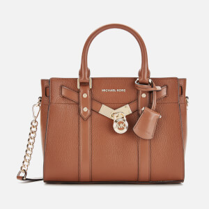 MICHAEL MICHAEL KORS Women's Nouveau Hamilton Small Satchel Bag - Luggage