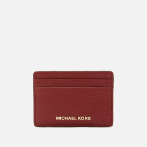 MICHAEL MICHAEL KORS Women's Jet Set Card Holder - Brandy